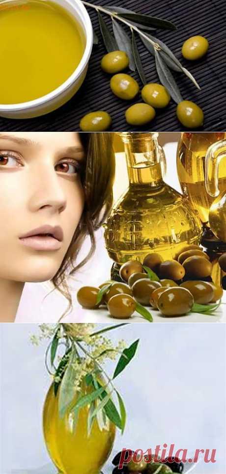 Маски из оливкового масла |