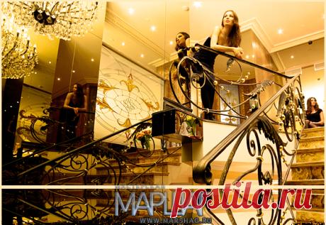 Лестницы, ограждения, перила из стекла, дерева, металла Маршаг – Ковка в лестничных ограждениях