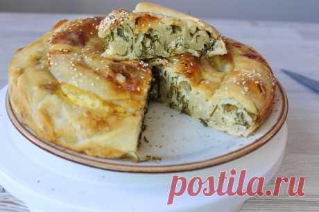 Вертута с сыром и зеленью — Кулинарная книга - рецепты с фото