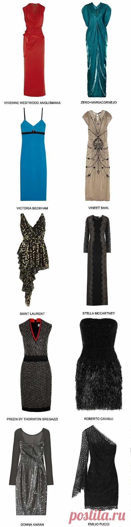 Лучшие платья для встречи нового года 2014 - Fancy Journal