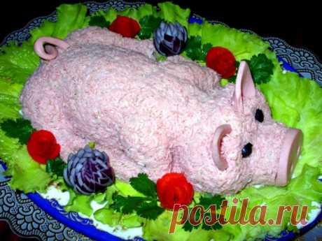 Новогодний стол 2019: что должно быть на праздничном столе в год Свиньи