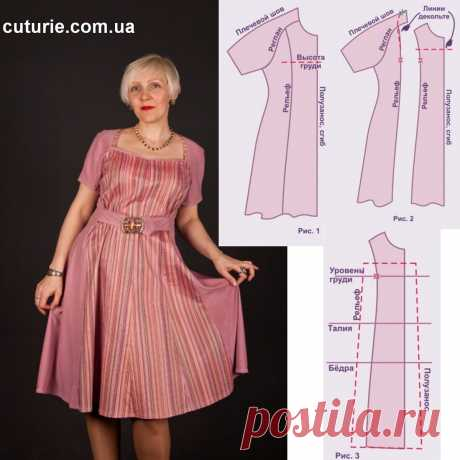✂️ Как увеличить и перешить своими руками платье, которое стало мало. Вариант 2   Шьем с Верой Ольховской   Яндекс Дзен