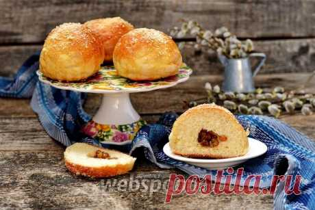 Barmy rolls with raisin the recipe with a photo how to prepare on Webspoon.ru