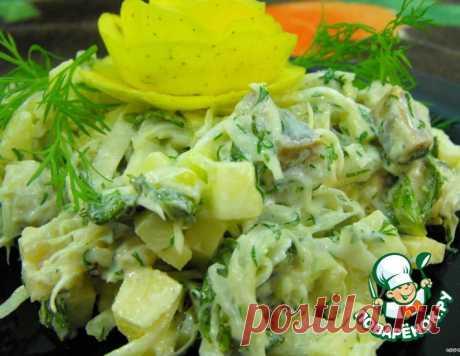 Скандинавский селедочный салат – кулинарный рецепт