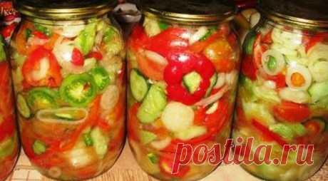 ТОП-7: Донской салат на зиму - СУПЕР ШЕФ