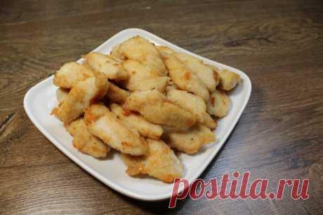 Надоели стандартные блюда из куриного филе? Тогда приготовьте аппетитнейшие наггетсы - Скатерть-Самобранка - медиаплатформа МирТесен