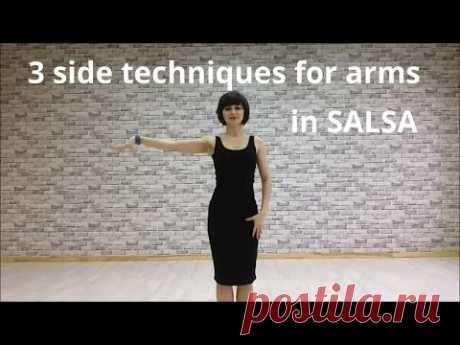 3 side techniques for arms in salsa - Anna LEV