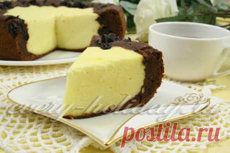 Cottage cheese cheese cake in the crock-pot