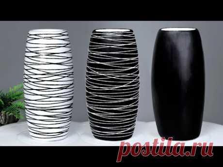 Stylist  Flower Vase making    Cement flower vase - Paper flower vase making