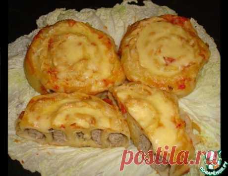 """""""Улитки"""" с мясом – кулинарный рецепт"""
