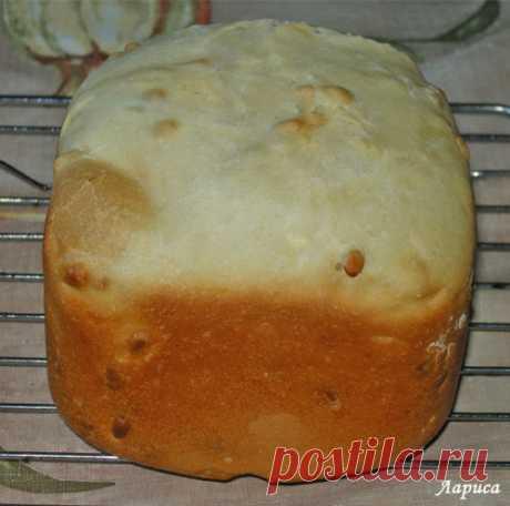 """Печем в хлебопечке. Пшеничный хлеб """"К завтраку"""" с кедровыми орешками"""