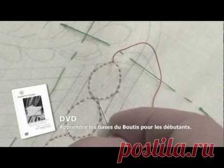 Бути один из видов объёмной вышивки (видео)