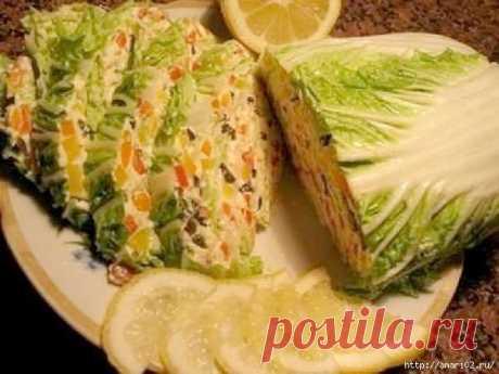 Snack Beijing cabbage.