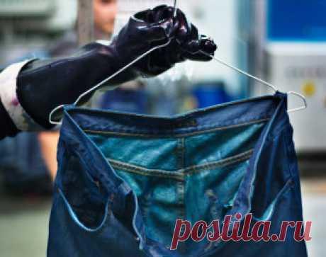 Как покрасить джинсы и другую одежду в стиральной машине?