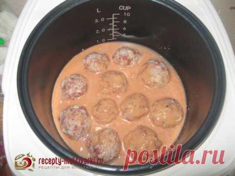 Рецепт тефтелей с рисом в мультиварке - приготовление в Редмонд, Панасоник, Поларис