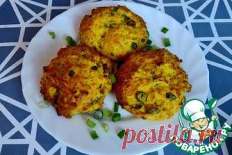 Печенье с зелёным луком