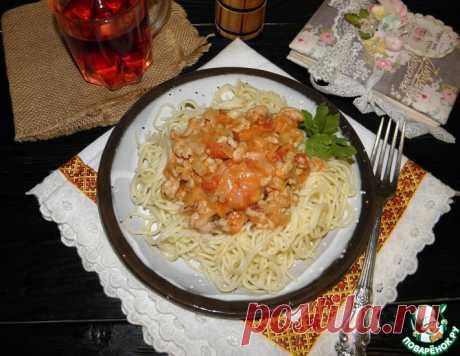 """Мясная подлива """"90-е"""" – кулинарный рецепт"""