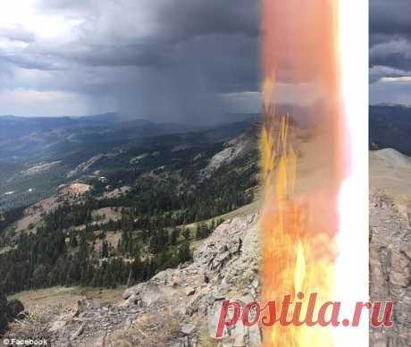 GISMETEO.RU: Австрийский турист сфотографировал ударившую его молнию - 27 августа 2017 | Стихийные явления | Новости погоды.
