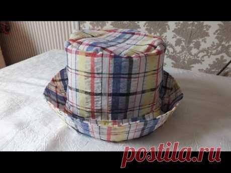 Летние шляпы и панамы из ткани (+выкройки и видео-урок) — Рукоделие