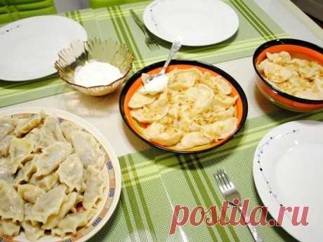 5 вкусных рецептов приготовления вареников с капустой | Вкусные рецепты