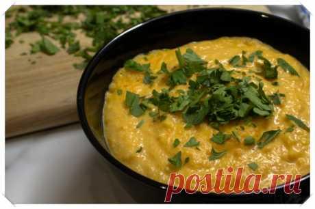 Суп-пюре из тыквы, моркови и картофеля - Полюбила я вегетарианца