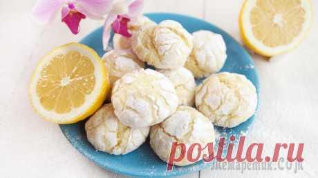 Лимонное печенье - просто объеденье