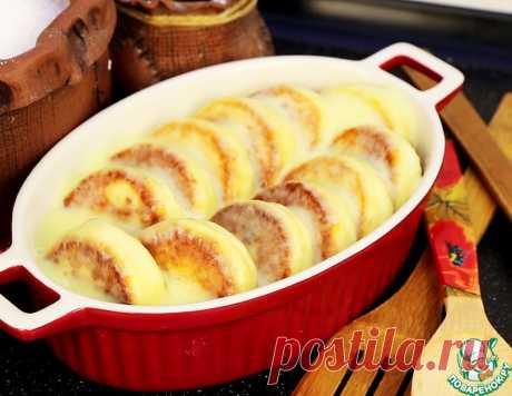 Сырники под нежным соусом – кулинарный рецепт