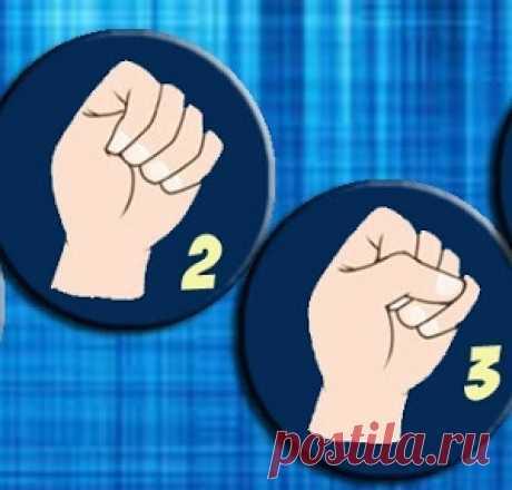 Сожмите ладонь в кулак и узнайте свой тип личности - МирТесен