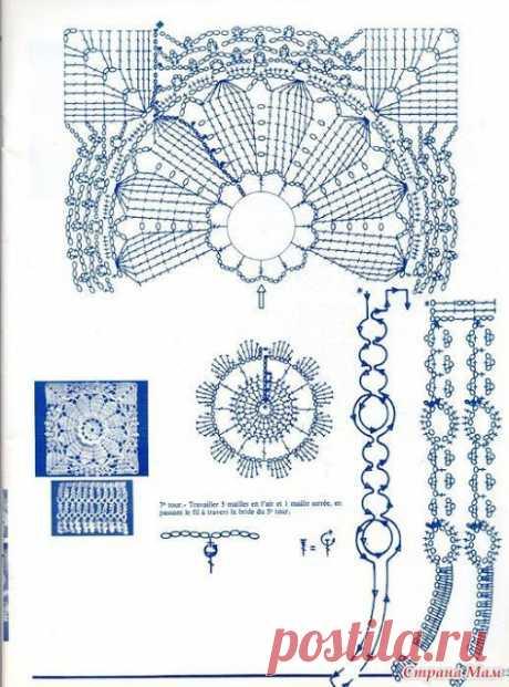 Irish crochet &: СХЕМЫ. PATTERN