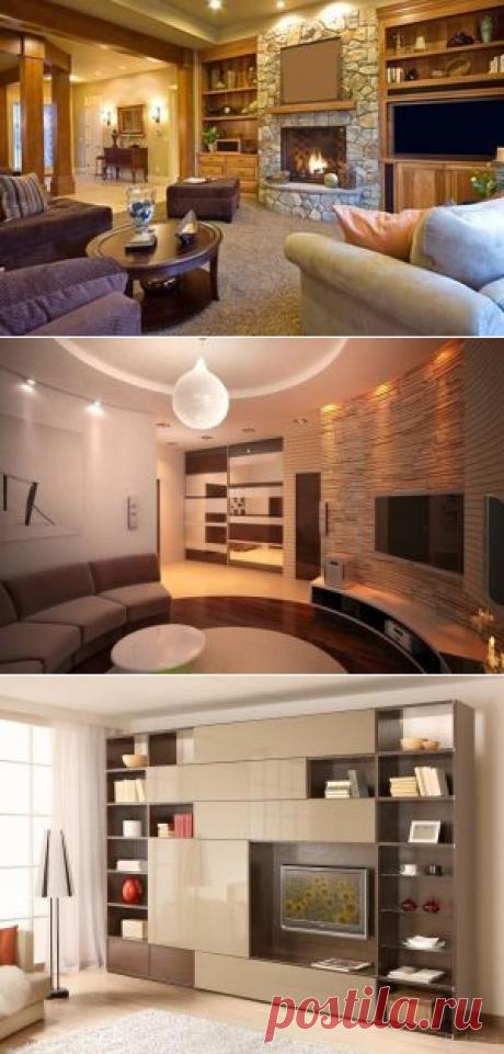 Советы по декорированию гостиной комнаты — Строительство, дизайн, интерьер Декорирование внутреннего убранства гостиной многим может показаться непростой задачей, однако специалисты утверждают, что это вовсе не так и предлагают несколько простых, но довольно эффектных решений. Стены можно декорировать различными способами, в зависимости от индивидуальных особенностей помещения и предпочтений хозяев.