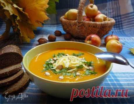 Крем-суп из тыквы с яблоками рецепт 👌 с фото пошаговый   Едим Дома кулинарные рецепты от Юлии Высоцкой