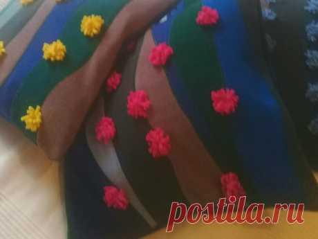 Как я использую волнистые линии в изготовлении подушек | Лоскутки Любви | Яндекс Дзен