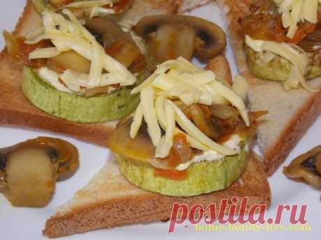 Закуска из кабачков/Сайт с пошаговыми рецептами с фото для тех кто любит готовить