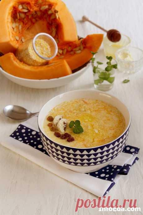 Кукурузная каша с тыквой (рецепт с фото) | InfoEda.com