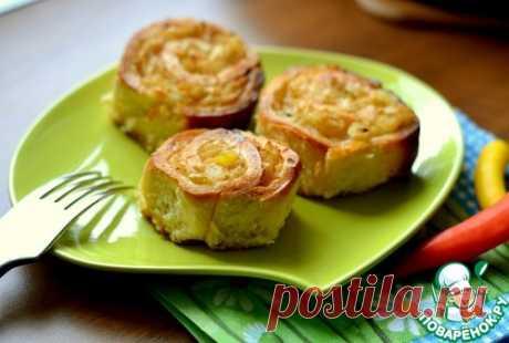 Рулетики с капустой - кулинарный рецепт