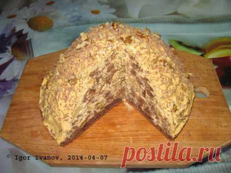 Торт с ананасами и изюмом (Торт Для мужа). Фоторецепт. | Мужик на кухне | Группы Мой Мир