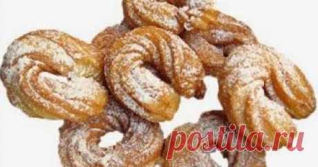68. Чуррос - испанские заварные пончики Чуррос - испанские заварные пончики