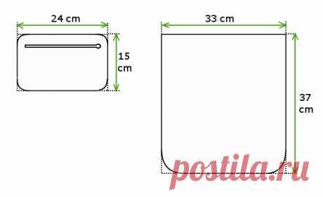 Opis jak uszyć torebkę z filcu z kieszonką z eko-skóry (szycie krok po kroku) | ETI-Blog o szyciu