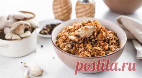 Гречка с грибами по-восточному – вкусное и оригинальное блюдо - Страница 2 из 2