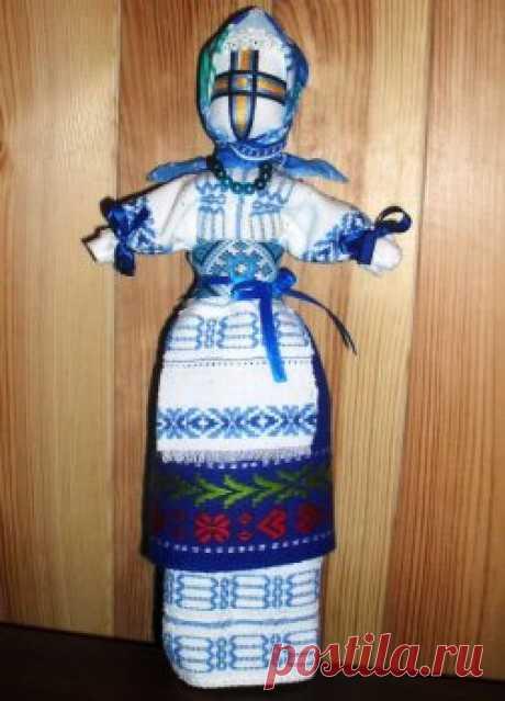 Сувениры своими руками: кукла-мотанка — Своими руками
