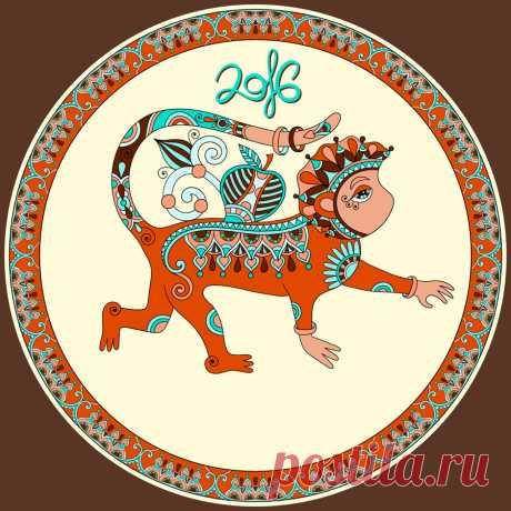 Красная огненная обезьяна символ 2016 года - Леди Mail.Ru