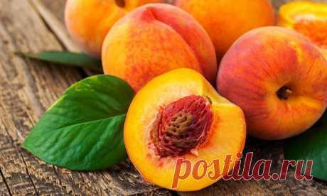 Как вырастить персик из косточк