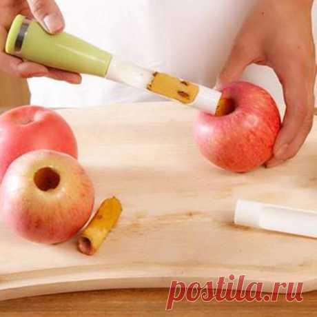 Creador Apple, el núcleo  de las semillas Remover las frutas De plástico de Pitter (Vivo) | Sammydress.com