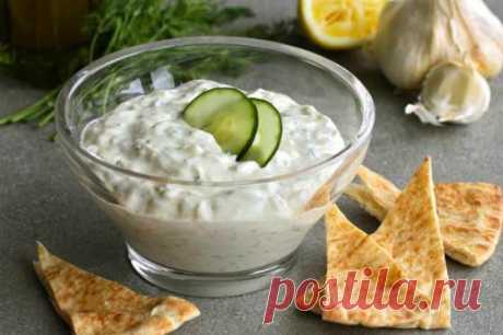 Соус дзадзики– визитная карточка Греции — Sloosh – кулинарные рецепты