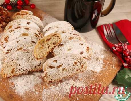 """Немецкий праздничный кекс """"Штоллен"""" – кулинарный рецепт"""