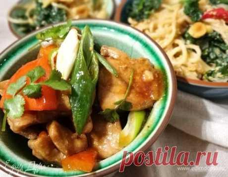 Свинина в кисло-сладком соусе. Рецепт для тех, кто любит китайскую кухню.