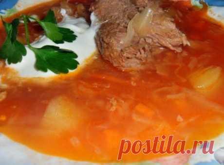 Щи «Русские» с гречкой и говядиной — Sloosh – кулинарные рецепты