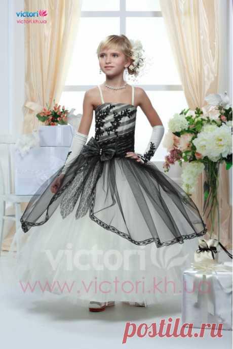 Купить детское платье D614 | интернет магазин Victori.kh.ua