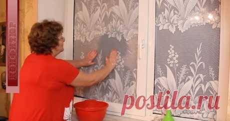 Для чего моя бабушка клеила тюль прямо на оконное стекло?   🏡 Малоэтажная Россия   Яндекс Дзен