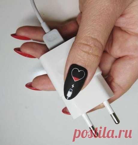 Идеи маникюра на день влюбленных. Дизайн ногтей на 14 февраля. - Ikrasivo.com